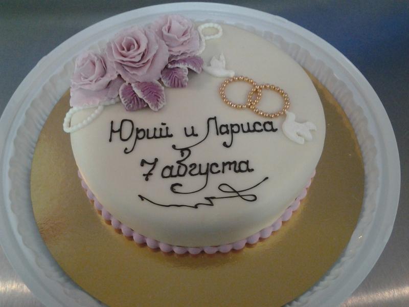 Свадебные кольца на торт своими руками 53