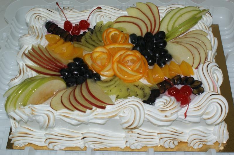 Торт для дня рождения своими руками фруктовый