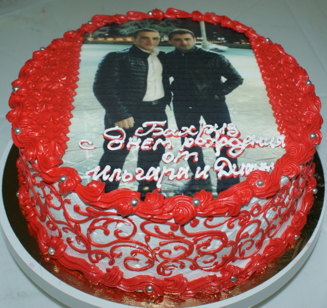 Торт для друга фото