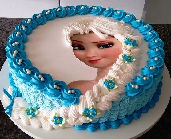 холодное сердце торт фото