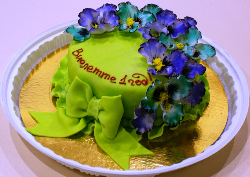 Торт анютины глазки рецепт с фото