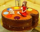 Торт Для милой художницы